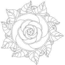 Mandala Kleurplaten Rozen Brekelmansadviesgroep