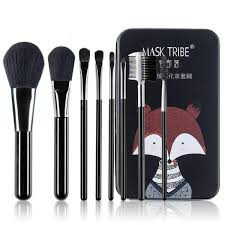 8pcs professional makeup brush set tool with pouch bag black intl philippines