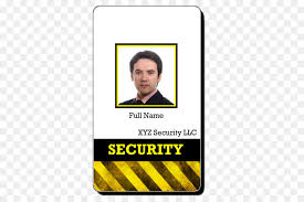 security guard badge template. Badge Template Security guard Identity document id card png