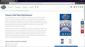 garden of life vitamin code men review garden of life vitamin code men s multivitamin review
