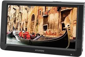 Портативный <b>DVD</b>-<b>плеер Hyundai H-LCD1200</b>, черный
