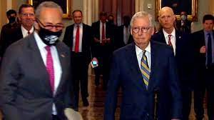 Schumer cuts off McConnell before press ...