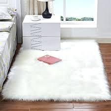 3 sizes soft rectangle faux sheepskin rug fluffy plush sofa carpet house living room bedroom fur faux fur rug