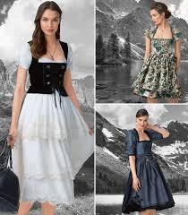 Dirndl Pattern Mesmerizing Darling Dirndls 48 New Dress Patterns Sewing Blog BurdaStyle