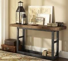 wood and iron furniture. reclaimed wood u0026 wrought iron console table traditionalcoffeetables and furniture v