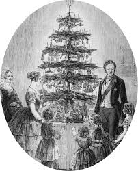 The First Christmas Tree In England - My Merry Christmas