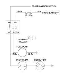 Wiring Diagram For Electric Fuel Pump Honda Fuel Pump Relay Diagram