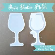 wine glass resin mold resin shaker mold silicone mold shaker mold charm mold kawaii resin mold hollow mold uv resin mold