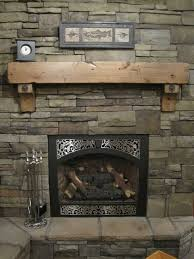 custom made knotty alder fireplace beam mantel rustic distressed antique bolts salvaged