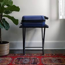 Luggage Racks For Guest Rooms Beauteous A Secret To Hosting Overnight Guests A Cup Of Jo