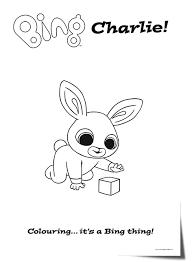 Binglineartcharlie Bing Bing Bunny Bunny Party Bunny