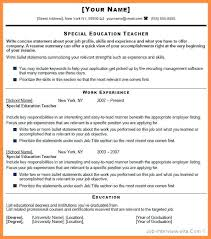 15 How To Make A Cv For Teaching Job Resume Package