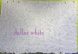dazzling dallas white granite