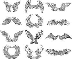 Picture Drawings Learn More About Drawings Of Angel Wings For Your Angelic Art