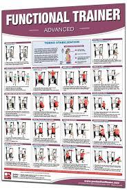 74 Unfolded Exercise Fitness Chart