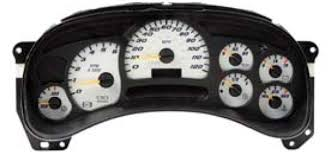 replacement instrument cluster for gmc chevrolet truck chevrolet gmc truck instrument clusters ready to ship in usa totally rebuilt programmed your milage call 989 839 4877 if your cluster is not