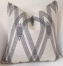 Etsy Throw Pillows Ikat Pillow Cover Beige Black Pillow Throw Pillow Black Beige