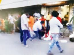 Watch Video Gujarat Bjp Mla Kicks And Thrashes Ncp Woman Leader News