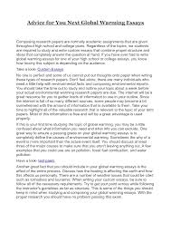 paragraph essay on global warming co 5