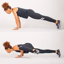 take a long step back so your knee makes a 90 degree angle at the bottom and pull yourself back up with your forward leg