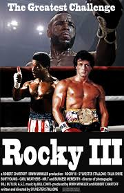 Rocky 3 Sylvester Stallone Movie Poster Reproduction ver2 Canvas Picture  Art Print Premium Quality A0 A1 A2 A3 A4 (A4 Poster (210/297mm or  8.3/11.7inches))- Buy Online in Montenegro at montenegro.desertcart.com.  ProductId :