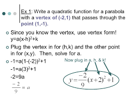 write quadratic equation vertex form jennarocca
