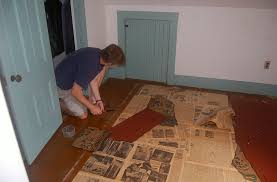 removing linoleum floor