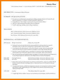 12 Government Resumes Examples Applicationleter Com