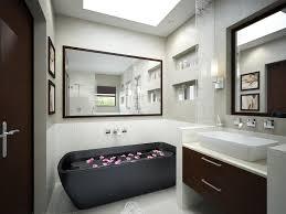 Bathroom  Beautiful Blue White Wood Glass Stainless Unique Design - Simple bathroom
