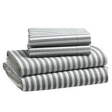 blue and white striped sheets.  White New Stripe Sheet SetFullFeather GrayWhite With Blue And White Striped Sheets E