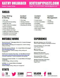 Creative Writer Resume