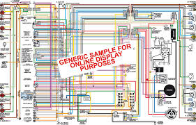 1966 chevy belair biscayne caprice impala color wiring diagram classiccarwiring sample color wiring diagram