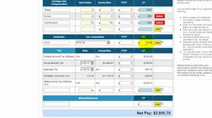 paycheck taxes calculator 2015 income tax payroll calculator salary slip template