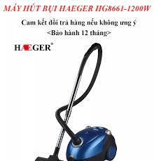 Máy hút bụi, máy hút bụi gia đình Hager công suất 1200W hút bụi mọi ngóc  ngách, hút được cả lông chó mèo - BẢO HÀNH 12 THÁNG