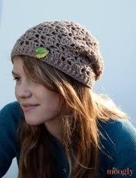 Slouch Hat Crochet Pattern Simple Free Pattern Fallen Leaves Slouch Hat Moogly