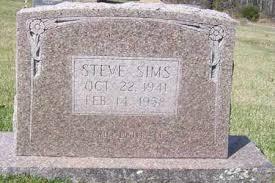 SIMS, STEVE - Izard County, Arkansas | STEVE SIMS - Arkansas Gravestone  Photos