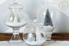 Apothecary Jars Christmas Decorations Snowy Scenes Apothecary Jars The Gold Jellybean 7