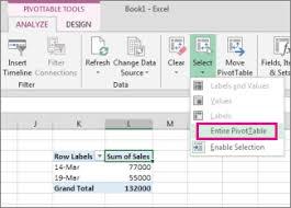 What Is Pivot Table Delete A Pivottable Excel