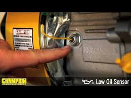 how to disconnect your low oil sensor how to disconnect your low oil sensor champion power equipment