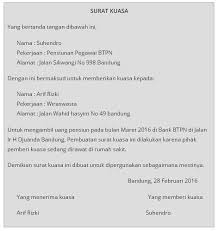 Posted on november 2, 2015 by aufalawyer. Contoh Surat Kuasa Pemberian Rumah Contoh Surat
