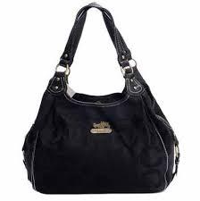 Coach Large Maggie Shoulder Bag Black