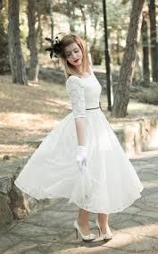 tea wedding gowns short midi length bridal dress june bridals
