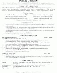 Sample Resume For Experienced System Administrator Best of Download System Administrator Resume Sample DiplomaticRegatta