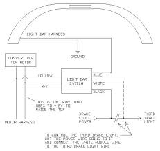 how to install a splice in lightbar switch on your mustang if the light bar operation is inverted off when it should be on on when it should be off then reverse the connections to the motor wires
