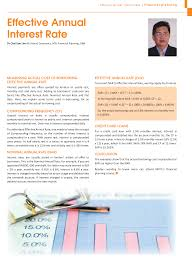 Effective Annual Interest Rate Malaysian Financial Planning Council