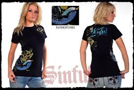 Affliction T Shirt Size Chart Laurel Baby Tee 2 Sinful Size Chart Affliction Logo Pics