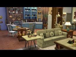 friends apartment central perk sims