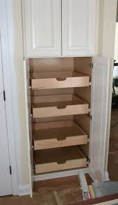 how to build pull out pantry shelves diy projects for slide out shelves for kitchen cabinets