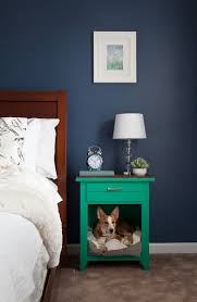Upcycled Dog Bed Nightstand The Home Depot Blog