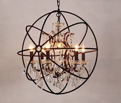 popular orb chandelier orb chandelier lots from china black orb chandelier